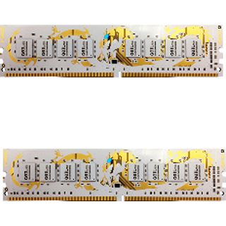 16GB GeIL white Dragon IC DDR4-3000 DIMM CL15 Dual Kit