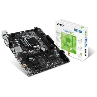 MSI B150M ECO Intel B150 So.1151 Dual Channel DDR mATX Retail