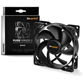 be quiet! Pure Wings 2 PWM 92x92x25mm 1900 U/min 19.6 dB(A) schwarz