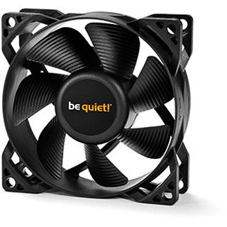 be quiet! Pure Wings 2 PWM 80x80x25mm 1900 U/min 19.2 db(A) schwarz