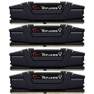 64GB G.Skill RipJaws V schwarz DDR4-3200 DIMM CL16 Quad Kit