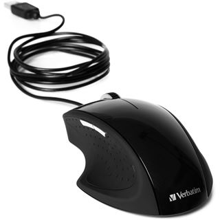 Verbatim GO ERGO USB schwarz (kabelgebunden)