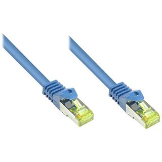 0.15m Good Connections Cat. 7 Rohkabel Patchkabel S/FTP PiMF RJ45