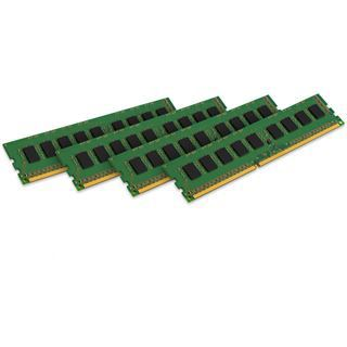 32GB Kingston ValueRAM Intel DDR4-2133 regECC DIMM CL15 Quad Kit
