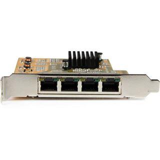 Startech 4 Port PCIe Gigabit
