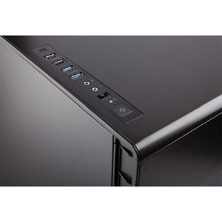 Corsair Carbide Quiet 600Q gedaemmt Midi Tower ohne Netzteil schwarz