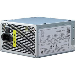 500 Watt Inter-Tech SL-500 Plus Non-Modular 80+