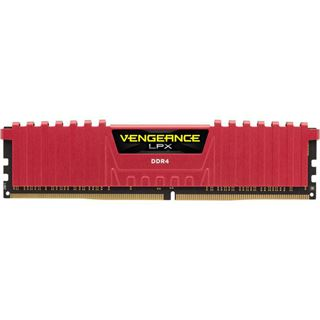 16GB Corsair Vengeance LPX rot DDR4-2133 DIMM CL13 Dual Kit