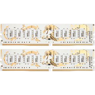 8GB GeIL white Dragon IC DDR4-3200 DIMM CL15 Dual Kit