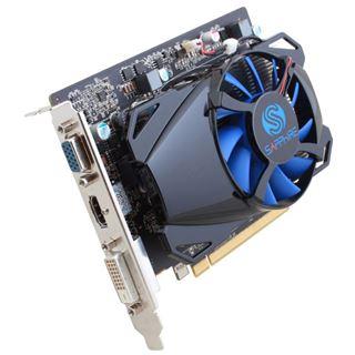 2GB Sapphire Radeon R7 250 GDDR5 Aktiv PCIe 3.0 x16 (Lite Retail)