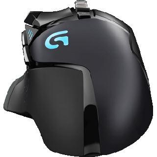 Logitech G502 Proteus Spectrum USB schwarz (kabelgebunden)