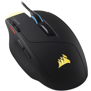 Corsair Sabre USB schwarz/gelb (kabelgebunden)