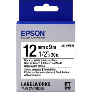 Epson Tape LK4WBW String ADH schwarz