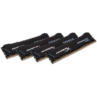 32GB HyperX Savage DDR4-2800 DIMM CL14 Quad Kit