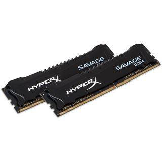 16GB HyperX Savage schwarz DDR4-3000 DIMM CL15 Dual Kit