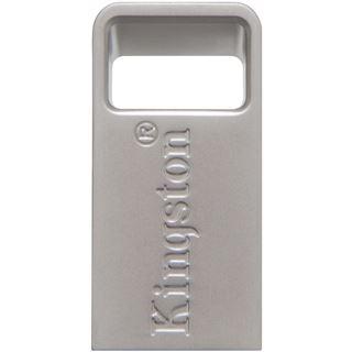 128 GB Kingston DataTraveler Micro silber USB 3.1