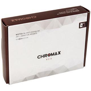 Noctua NA-SAV2 chromax.red Anti-Vibrationsset - rot