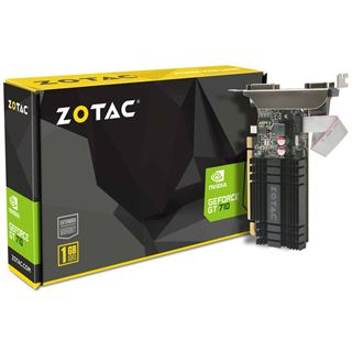 1GB ZOTAC GeForce GT 710 Zone Edition Passiv PCIe 2.0 x16 (Retail)