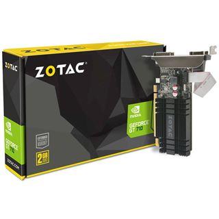 2GB ZOTAC GeForce GT 710 Zone Edition Passiv PCIe 2.0 x16 (Retail)