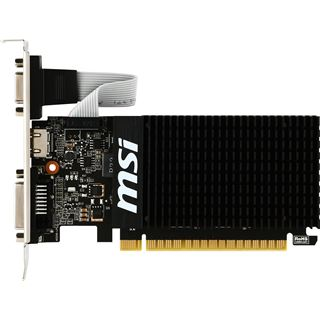 2GB MSI GeForce GT 710 LP Passiv PCIe 2.0 x16 (Retail)