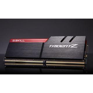 16GB G.Skill Trident Z silber/rot DDR4-3200 DIMM CL16 Quad Kit