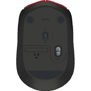 Logitech M171 USB rot (kabellos)