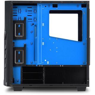 Sharkoon DG7000 Midi Tower ohne Netzteil blau