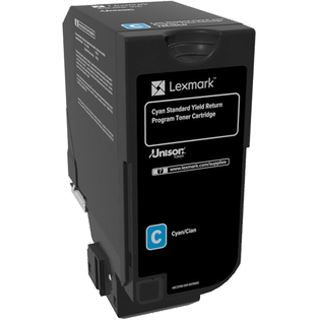 Lexmark Toner Rück. CS72x/C72x cyan