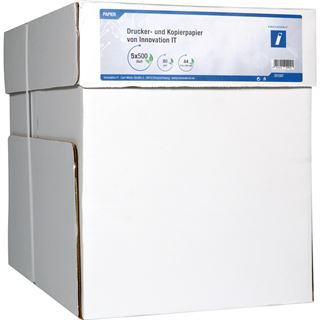 Innovation IT Drucker- und Kopierpapier A4 80g/qm 500 Blatt I.IT