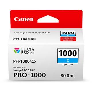 Canon Tinte PFI-1000C 0547C001AA cyan