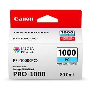 Canon Tinte PFI-1000PC 0550C001AA cyan photo