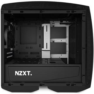 NZXT Manta mit Sichtfenster ITX Tower ohne Netzteil schwarz/weiss