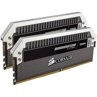 16GB Corsair Dominator Platinum DDR4-2400 DIMM CL10 Dual Kit