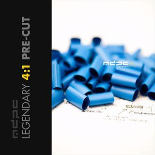 MDPC-X Pre-Cut Schrumpfschlauch 4:1 Small blau 50 Stück