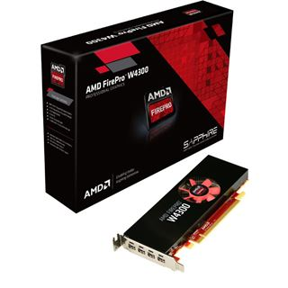 4GB Sapphire FirePro W4300 Aktiv PCIe 3.0 x16 (Retail)
