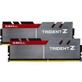 32GB G.Skill Trident Z silber/rot DDR4-3200 DIMM CL14 Dual Kit