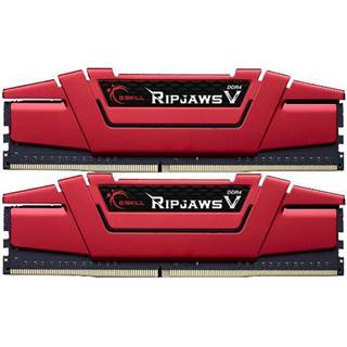 16GB G.Skill RipJaws V rot DDR4-3200 DIMM CL15 Dual Kit