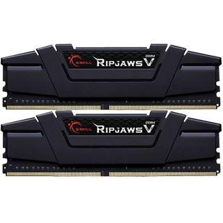 16GB G.Skill RipJaws V schwarz DDR4-3200 DIMM CL15 Dual Kit
