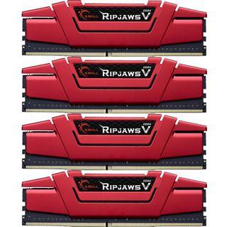 32GB G.Skill RipJaws V rot DDR4-3200 DIMM CL14 Quad Kit