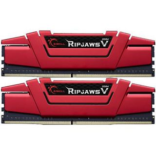 32GB G.Skill RipJaws V rot DDR4-3200 DIMM CL14 Dual Kit
