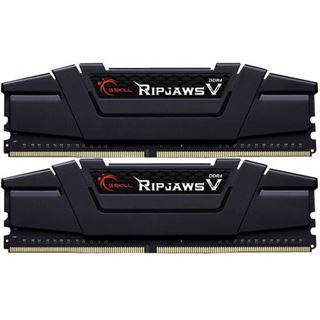 32GB G.Skill RipJaws V schwarz DDR4-3200 DIMM CL14 Dual Kit