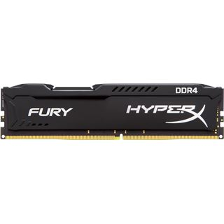 8GB HyperX FURY schwarz Single Rank DDR4-2133 DIMM CL14 Single