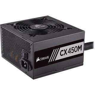 450 Watt Corsair CX Series CX450M Modular 80+ Bronze