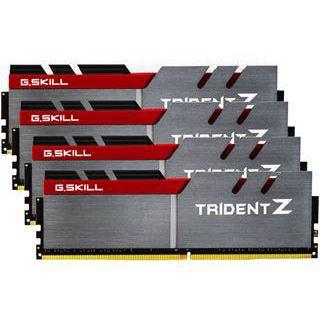 32GB G.Skill Trident Z silber/rot DDR4-3600 DIMM CL17 Quad Kit