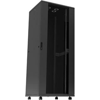 Logilink D32S66B 32HE 600x600mm schwarz vormontiert Standschrank