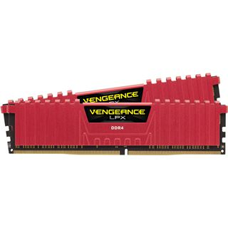 16GB Corsair Vengeance LPX rot DDR4-3600 DIMM CL18 Dual Kit