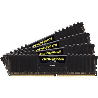 64GB Corsair Vengeance LPX schwarz DDR4-3200 DIMM CL16 Quad Kit