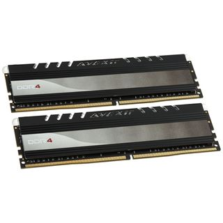 16GB Avexir Core Series white LED DDR4-2400 DIMM CL16 Dual Kit