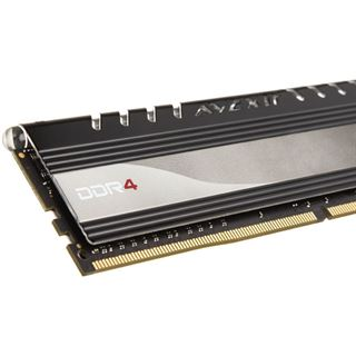 4GB Avexir Core Series yellow LED DDR4-2400 DIMM CL16 Single