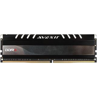 8GB Avexir Core Series green LED DDR4-2400 DIMM CL16 Single